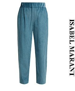 이자벨마랑 2018fw  Meloy high-waisted corduroy trousers    (가격 문의 주세요)