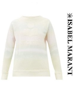 이자벨마랑 20ss Sweat-shirt en coton mélangé tie-dye Milly