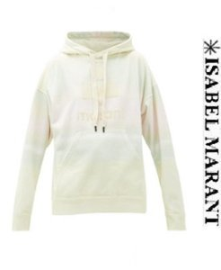 이자벨마랑 20ss Sweat-shirt en coton à capuche Mansel